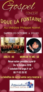 CONCERT GOSPEL PAR JOY OF GOSPEL